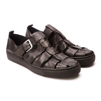 Sandały męskie APIA Mazur Nero