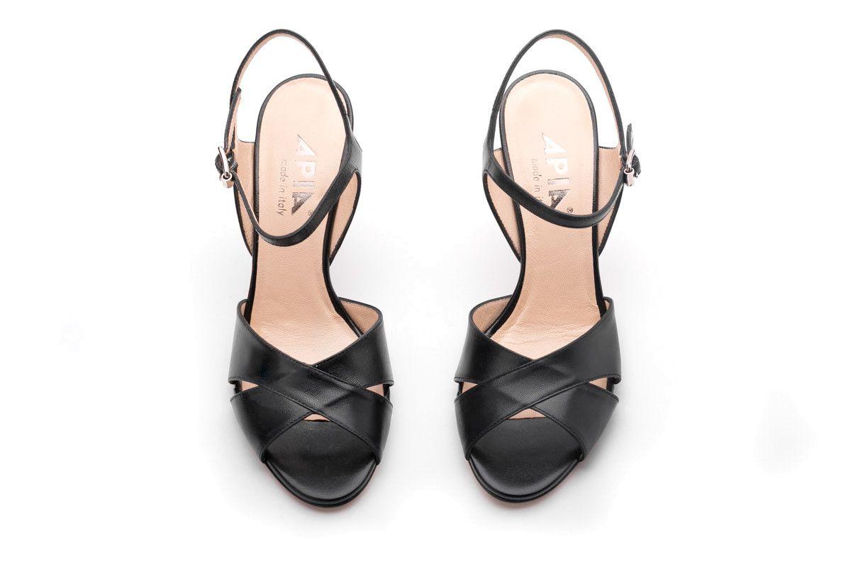 Sandały damskie APIA Sand 1 Capretto Nero