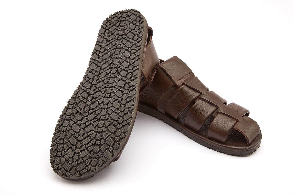 Sandały męskie APIA Marmi Marrone