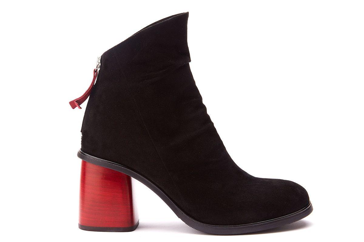 177f18c3bd Women's Ankle Boots APIA Amelia 12 Nero - Women's Booties - Women's ...