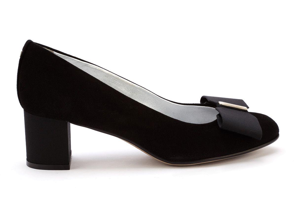 caf8a3bdbaa Women s Block Heel Pumps APIA Adele 100 Cam. Nero - Women s Pumps ...