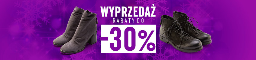 wyrzedaż -30%