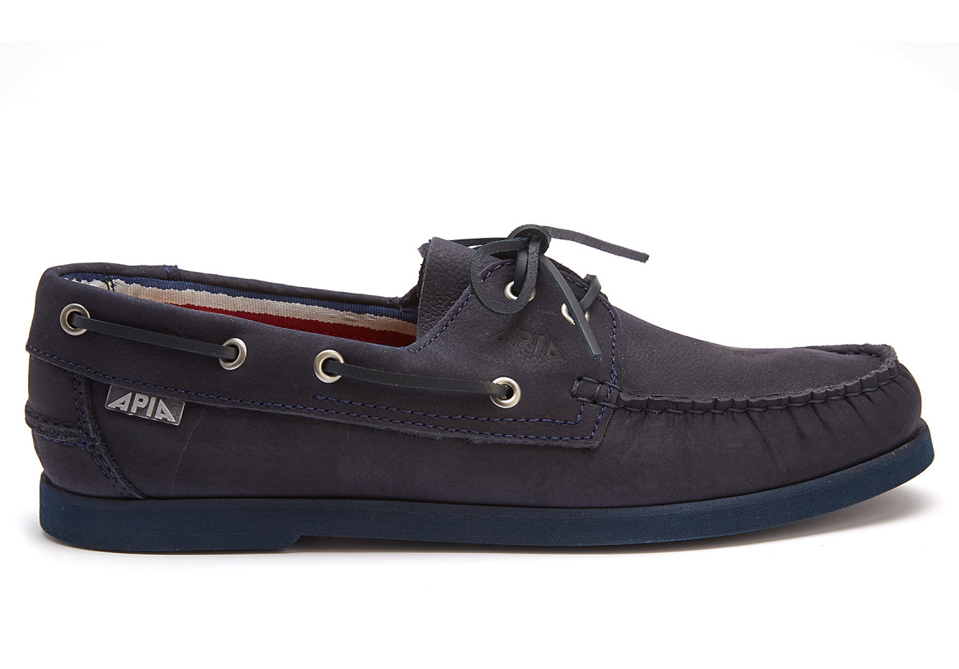APIA boat shoes buty żeglarskie 77 Racing Montana Navy