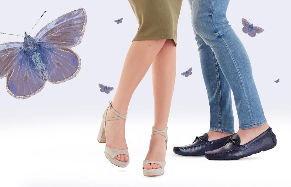 beżowe sandały na platformie APIA Gadana