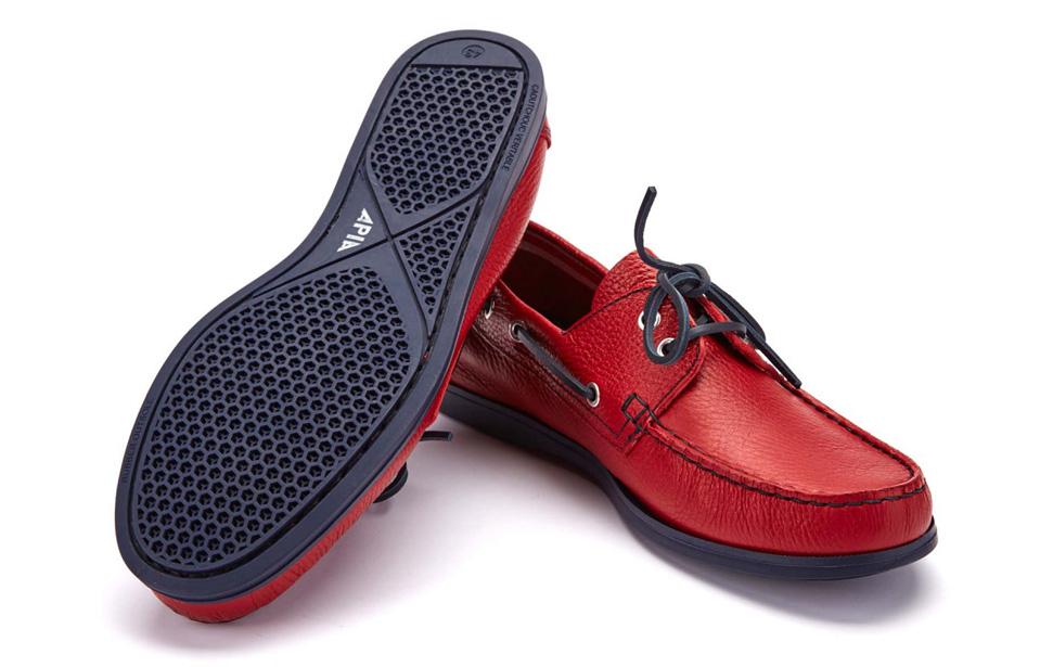 boat shoes żeglarskie półbuty APIA.jpg