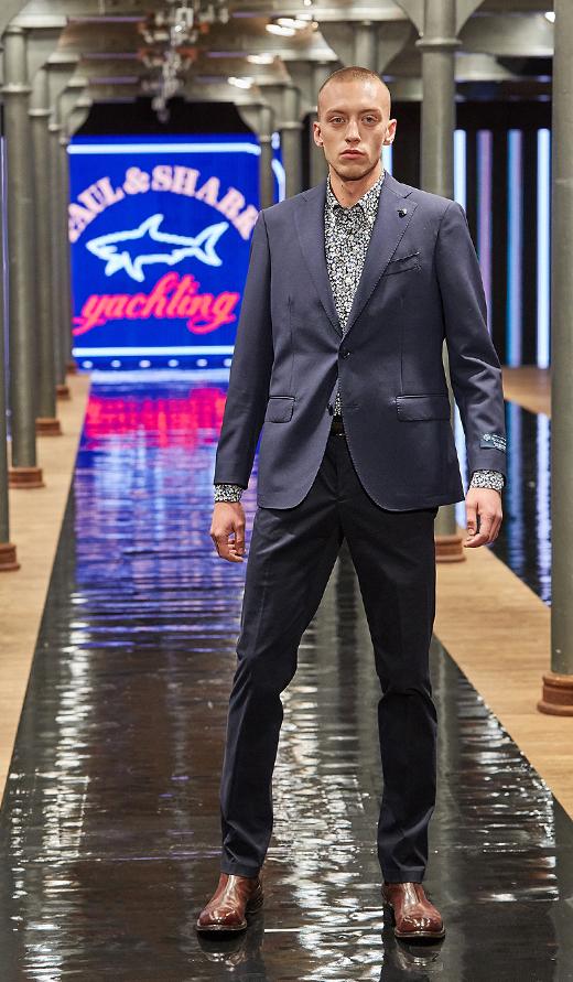 botki Officine Creative garnitur Paul&Shark