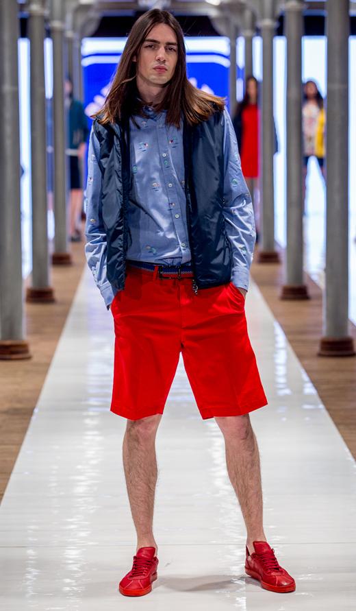 czerwone trampki Officine Creative Karma kolekcja sneakersów APIA