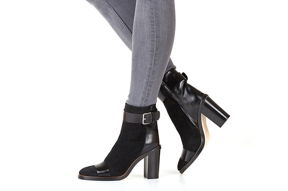 damskie ankle boots botki na obcasie Apia Ete