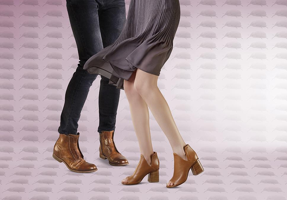 sandały na słupku APIA botki męskie