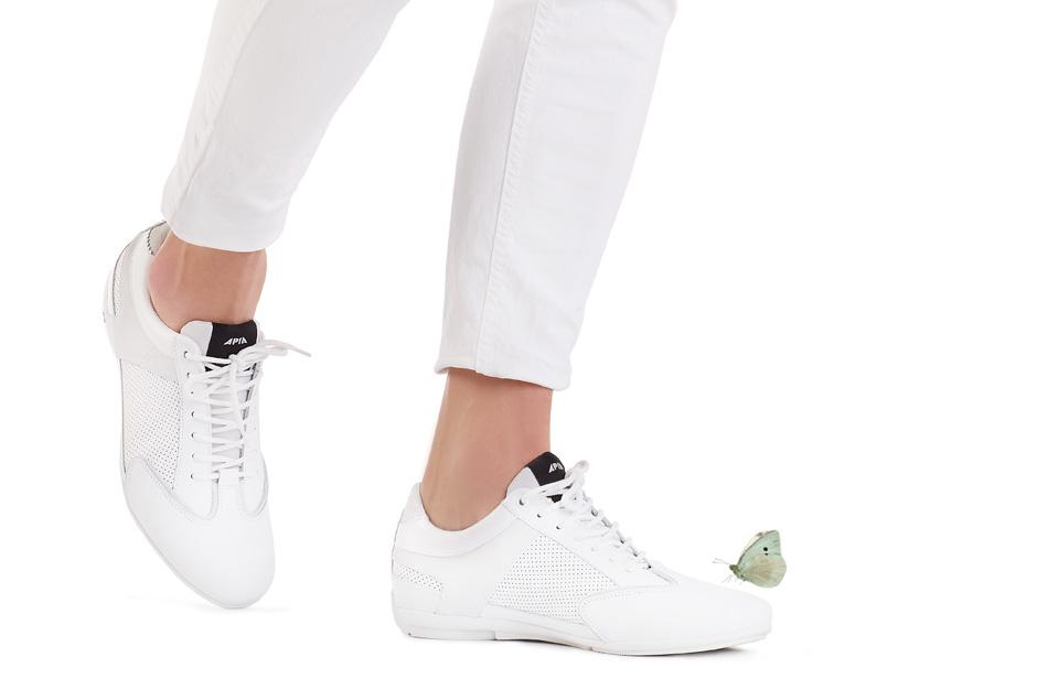 sneakersy APIA białe trampki