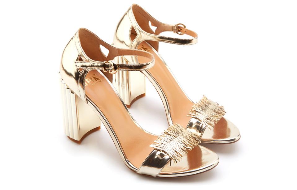 złote sandały APIA Napoli